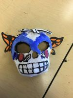 Day of the dead mask done by moonjumper4