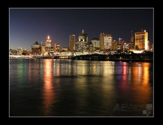 Brisbane City by AEvision