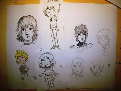 characters study by NicoTopin