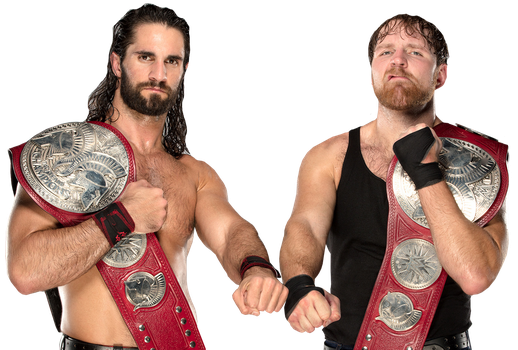 Seth Rollins and Dean Ambrose Tag Team Champions by Nibble-T