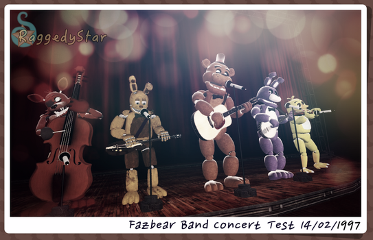 First Concert by RaggedyStar
