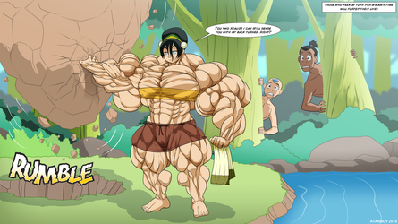 Between A Toph And A Hard Place. by Atariboy2600
