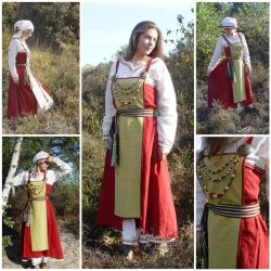 Viking Age Inspired Costume by AlexandraSpruit