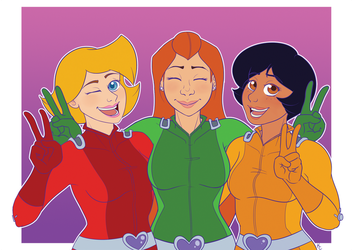 Totally Spies by SnookumsGal