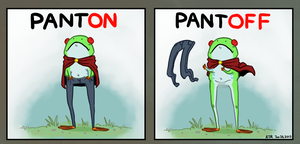 Manly Pants. by Jackarais