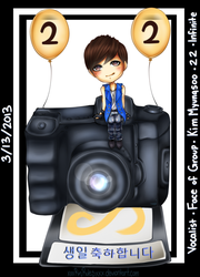Happy Birthday Infinite Kim Myungsoo L By Rinspirit Art