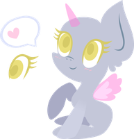 Mlp Base: Cute chibi pony by DarkPinkMonster