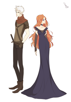 Anor + Amory by mioree-art