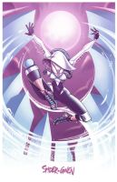 WEB of the SPIDER-GWEN by theMASman