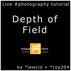 Depth of Field: Live Tutorial by PhotographyChannel