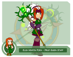 Heroes as Arms - Druid Queen Staff by Dragon-FangX