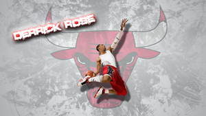 Derrick Rose Wallpaper by JaidynM