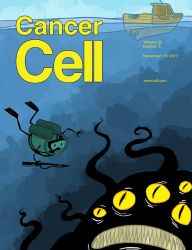 Cancer Cell Cover by Velica