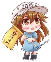 Platelet from Cells at Work! by mumuryu