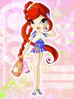 C: Margarita Chibi Summer by Charming--Primrose
