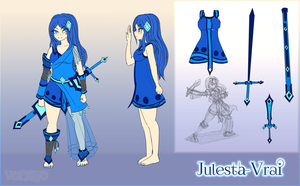 [Character] Julesta Reference by Voleno