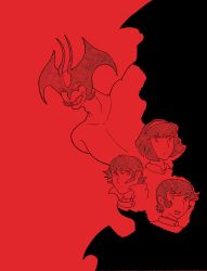 [Fanart] - devilman -  No text ver by FTLmech-hound