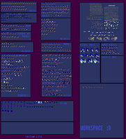 Sonic 2k14 Fancharacter Spritesheet [PNG Release] by X-LordStar-X