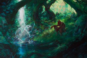 The Lonely Jungle by noahbradley