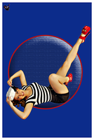 Pinup ahoy by VintageImagery