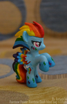 Rainbow Power Rainbow Dash blind bag custom by Antych