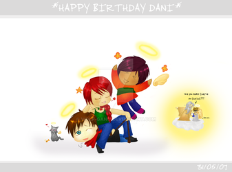 Happy Birthday Dani :3 by Wolf-Gang