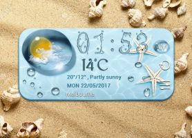 Summer Sand for xwidget by Jimking
