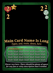 Card Design by KingsCourtGames