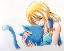 Lucy and Happy by Silvy-Silvy