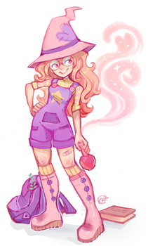 Witchling by koyt