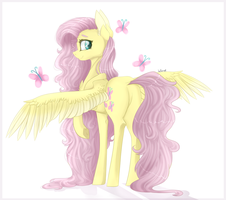 [FA] Fluttershy by HoloRiot