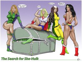 The Search for She-Hulk by yatz