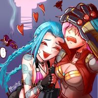 jinX was Arrested by chanseven