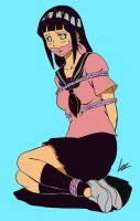 Hinata schoolgirl bound and gagged by mister-naruto