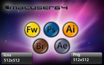 PScs4 Icons by Macuser64