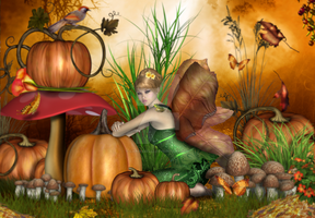 Autumns Fae by CaperGirl42