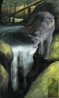 .: Spiritual forest :. (Art-Trade) by SweetElectricity