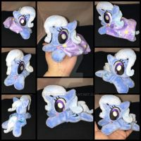 MLP 6in mini Trixie beanie w/cape ::Commission:: by RubioWolf