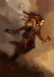 Sif the relentless by carloscara