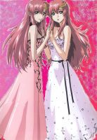 Lacus And Meer by zackthepro