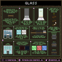 Glass Tutorial and Pixel Art guide by SadfaceRL