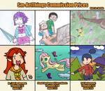 Obligatory Commissions Picture by Sm-ArtThings