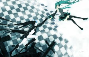 .:Black rock shooter fandub:. by LalaSweet98
