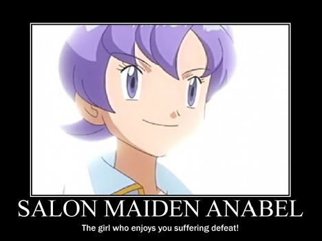 Salon Maiden Anabel Demotivational by TheRisenChaos