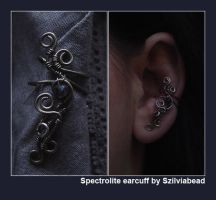 Earcuff with spectrolite by bodaszilvia