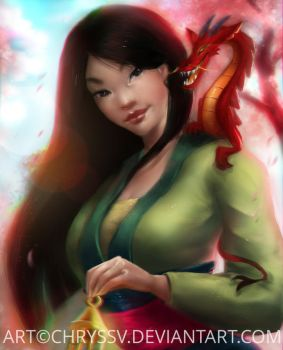 Mulan by chryssv
