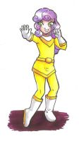 Com: Power Ranger Sweetie Belle by hopelessromantic721