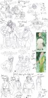 Avantasia Sketches 01 by Toradh
