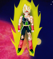 Super Saiyan Bardock by nekiis