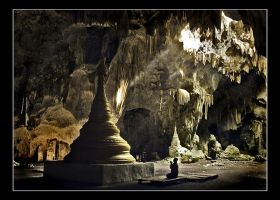 In The Cave by ThaKhinGyi